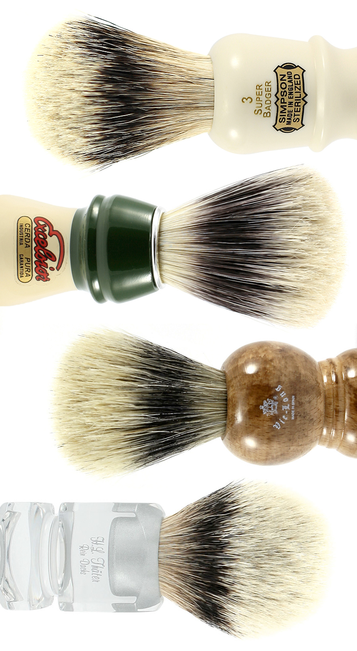 All About Shaving Brushes