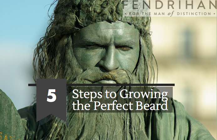 5 steps to Growing the Perfect Beard (For Beginners)