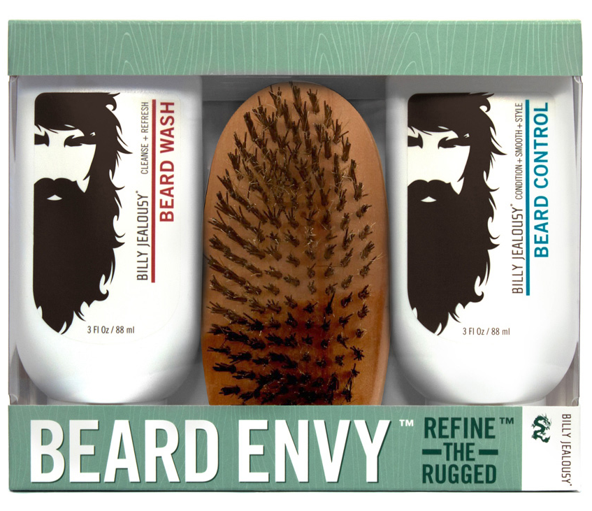 Have you got it? Set your beard up right.