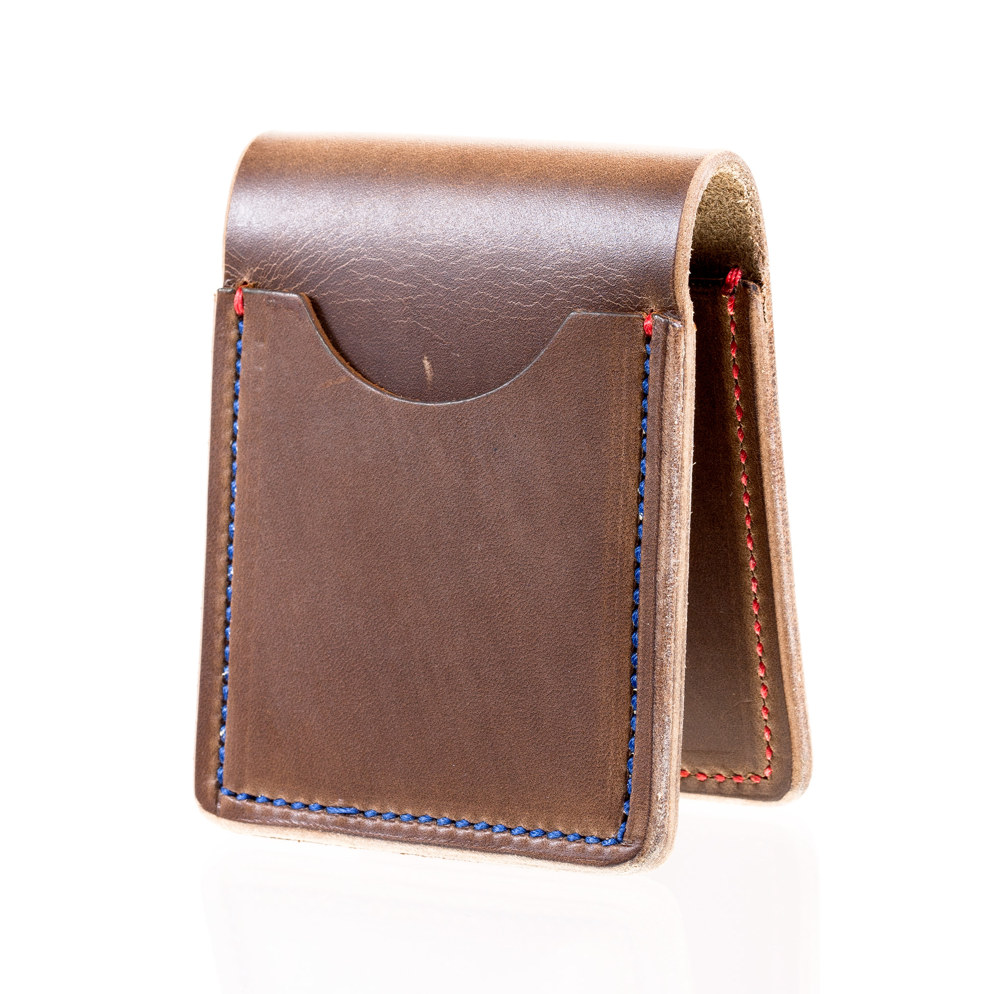 Benjamin's Pocket Guardrail Horween Chromexcel Natural Horse Leather Wallet