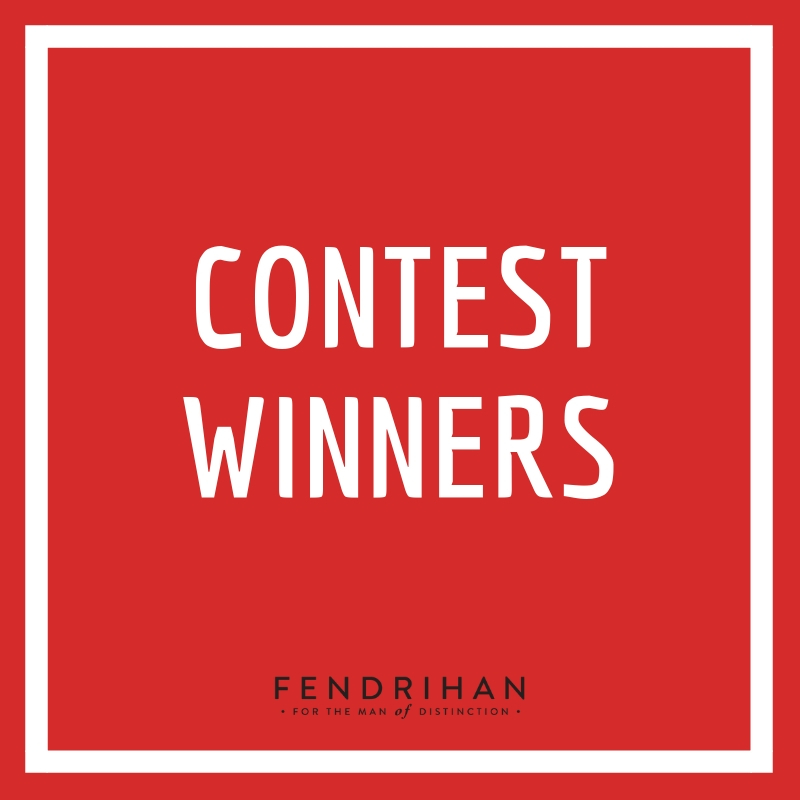 We're not ones to cry over spilled milk: Fendrihan Contest Winners