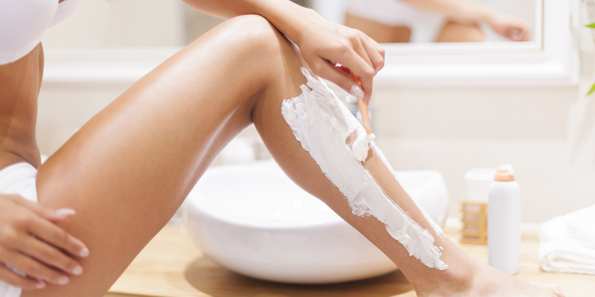 Shaving Your Legs How To