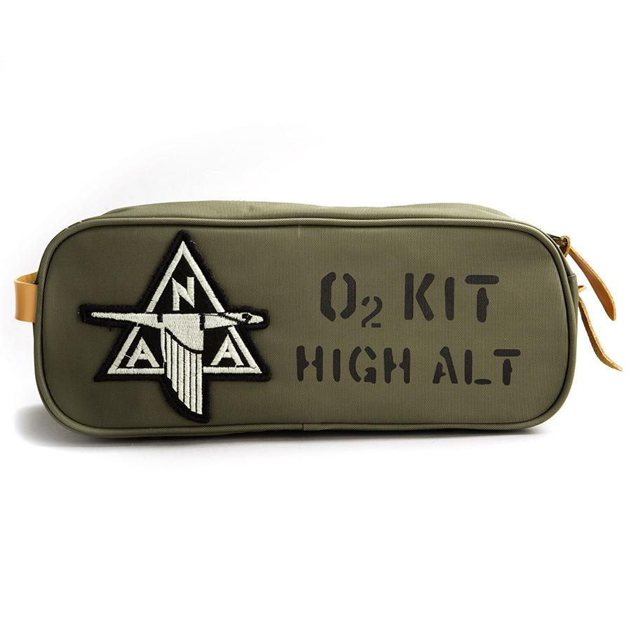 Red Canoe NAA O2 High Altitude Nylon Toiletry Kit