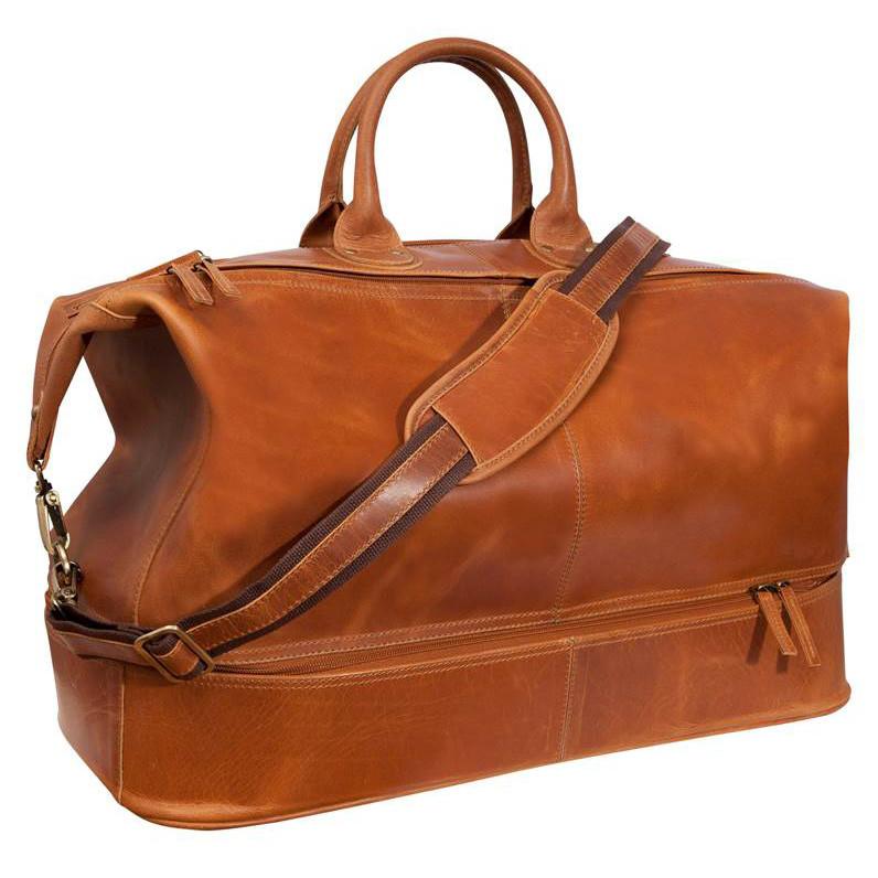 Fendrihan Arizona Buffed Waxed Leather Travel Bag