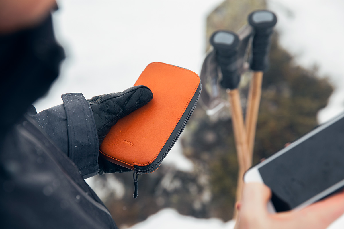 Bellroy All-Conditions Wallet and Phone Case Lookbook