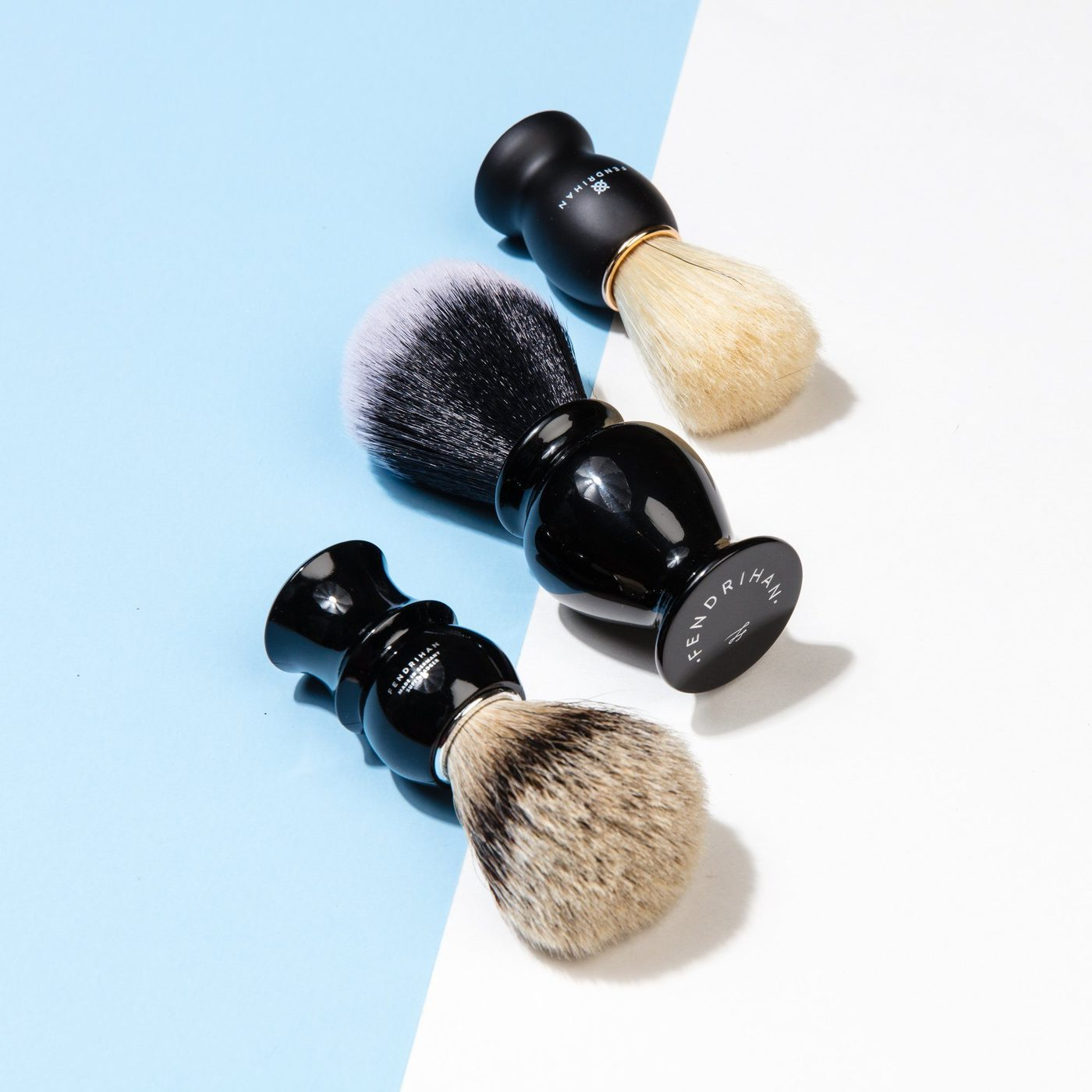 Natural vs. Synthetic Shaving Brushes