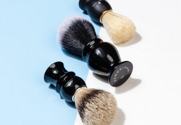 Natural vs. Synthetic Shaving Brushes