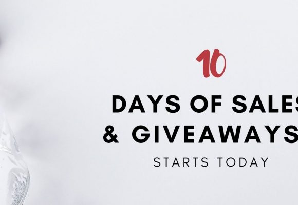 10 Days of Sales & Giveaways 🎁